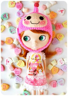 Candied Plum by Milkdoll  #doll #blythe #candy