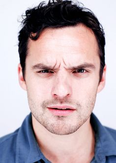 Jake Johnson - New Girl's Nick Miller. Can I just wrap him up and keep him in my pocket forever and ever.