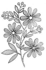Resultado De Imagem Para Desenhos De Margaridaspara Bordar