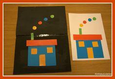 Układanka z figur : Dzisiaj Kasieńka przedstawi Wam UKŁADANKĘ Z FIGUR- przygotowałyśmy wraz z Kasią szablon układankę. Świetna zabawa dla dzieci podczas, której ćwiczymy percepcję wzrokową, kolory i kształty. UKŁADANKA Z FIGUR WIĘC ROZPOCZYNAMY ZABAWĘ Z UKŁADANIEM WEDŁUG WZORU GOTOWE! TERAZ BAJECZKA EDUKACYJNA