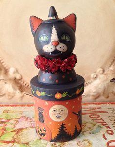 Image result for beads vintage halloween figure