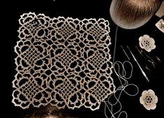 Venetian Crochet Lace - great blog post on this technique