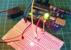 How to build your own simple laser trip wire alarm. The author of 'Arduino…