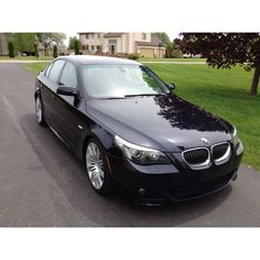 My 2008 BMW 550i in Carbon Black