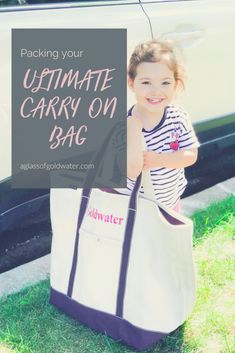 The Ultimate Carry On Bag - A Glass of Goldwater Terrible Threes, Terrible Twos, Traveling With Baby, Travel With Kids, Family Travel, Kids And Parenting, Parenting Hacks, Flying With A Baby, Mom Advice