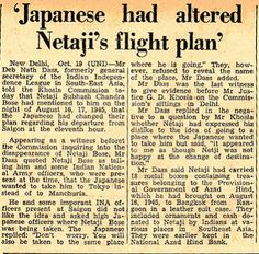 Conspiracy Theories: What really happened to Netaji Subhas Chandra Bose? Ancient Indian History, History Of India, History Timeline, History Facts, Titanic Behind The Scenes, Azad Hind, Freedom Fighters Of India, Subhas Chandra Bose, Opposite Words