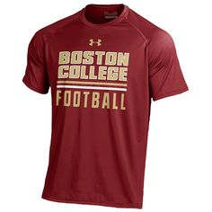 Under Armour College Tech T-Shirt - Men's - Basketball - Clothing - Boston College Eagles - Cardinal
