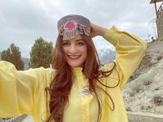 Aiman Khan And Muneeb Butt Latest Pictures From Hunza Valley Trip Asian Bridal Dresses, Pakistani Dresses Casual, Wedding Dresses For Girls, Casual Indian Fashion, Girly Images, Front Hair Styles, Aiman Khan, Mother Birthday, Cute Girl Face