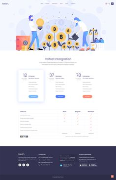 Foton WordPress theme comes packed with tons of carefully crafted and truly powerful layouts for your every need. App Landing Page, Landing Page Design, Cryptocurrency, Wordpress Theme, Mobile App, Layouts, Software, Messages, Templates
