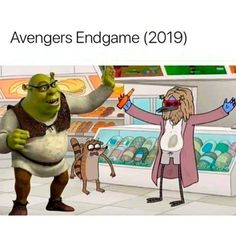 On Avengers: Endgame - iFunny :) Films Marvel, Memes Marvel, Dc Memes, Avengers Memes, Marvel Funny, Marvel Dc Comics, Funny Memes, The Avengers, Loki