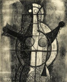 Artwork by Rufino Tamayo, Mujer, Made of Lithograph on wove paper