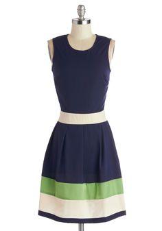 Coastal Companion Dress, #ModCloth