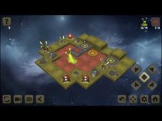 Sokoban Galaxies 3D android game first look gameplay español