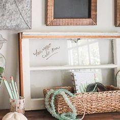 Projects Archives - Page 3 of 3 - Sand Dollar Lane Coastal Farmhouse, Farmhouse Style, Old Windows, Home Organization, Entrance, Beach House, Projects, Home Decor, Antique Windows