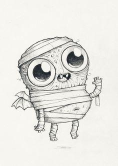 Chris Ryniak – Spooky Scribble #395