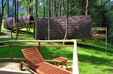 Glamping: Discover Glamorous Camping Adventures in Tirol Camping Glamping, Luxury Camping, Design Hotel, Outdoor Chairs, Outdoor Furniture, Outdoor Decor, Hotels, Lodges, Alps