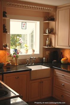 Custom Kitchen Design and Remodeling Ideas, Garden window, Washington DC, Bethesda, Chevy Chase, Rockville, Potomac, A Design Build Remodeling, Germantown, Gaithersburg,