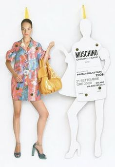 Moschino Fashion Week Invites | The House of Beccaria
