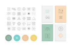 Geometry by Lera Efremova on Creative Market