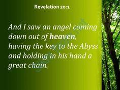 revelation 20 1 the abyss and holding in his powerpoint church sermon Slide03http://www.slideteam.net