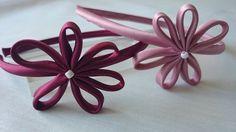 Set bestehend aus zwei Stirnbänder.  von Corazones de Colores auf DaWanda.com