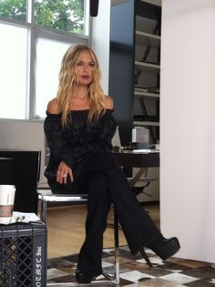 Rachel Zoe. Love her hair and definitely her style!