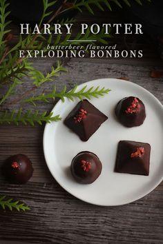 Harry Potter: Butterbeer flavored Exploding Bonbons