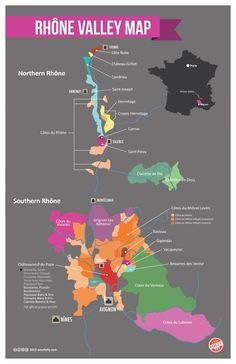 We are fortunate to enjoy some delicious Rhone style wines grown right here on California's Central Coast. For those who'd like to know more about the original wines from France's Rhone Valley, you might explore this guide.