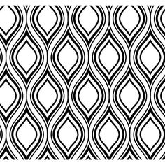 Inspired By Color White And Black Ogee Wallpaper York Wallcoverings Wallpaper Wall Decor H