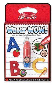 Water WOW! Alphabet - ON the GO Travel Activity | Party Favors | Melissa and Doug