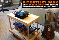 EVERYTHING you need to know about building your own DIY backup battery bank system for emergency power outages or even living completely off the grid!! Comprehensive video series walks you through the whole thing!! SO EASY!! Anyone seriously interested in solar, wind or hydroelectrics needs to get this video series. You have to have a reliable and quality battery bank for each!