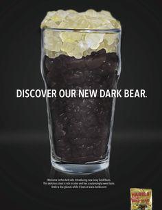 Haribo Gold Bears: Bear over Beer on Behance