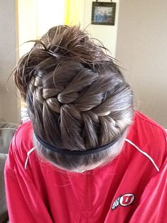 65 Ideas basket ball hairstyles sports volleyball games Best Picture For Volleyball Hairstyles Cute Sporty Hairstyles, Athletic Hairstyles, Cute Girls Hairstyles, Headband Hairstyles, Pretty Hairstyles, Braided Hairstyles, Sport Hairstyles, Casual Hairstyles, Hairdos