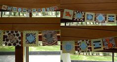 Safari banner I made for Tamara's baby shower