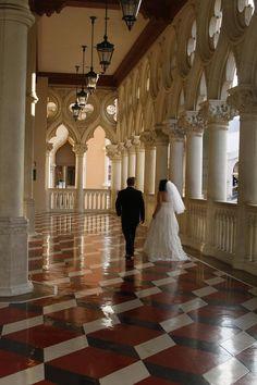 Wedding at The Venetian, Las Vegas