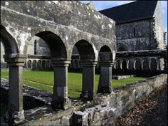 Ballintubber Abbey, County Mayo Collerans were Baptized and Married here. County Mayo Ireland, Irish Roots, My Family History, Old Churches, Ireland Travel, Castles, Paths, Celtic, Scotland