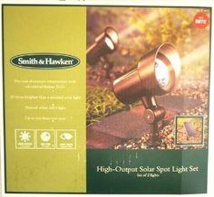 Amazon.com: Smith & Hawken® 2 Pack Solar Spotlights - Oil Rubbed Bronze: Home Improvement Solar Spot Lights, Path Lights, Patio Lighting, Landscape Lighting, White Lips, Spotlights, Oil Rubbed Bronze, Lawn And Garden, Outdoor Gardens