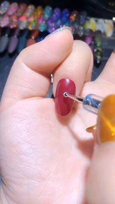 nail art videos diy ~ videos of nail art . videos of nail art water marbling . videos of nail art nailart . Nail Art Designs Videos, Nail Art Videos, Simple Nail Art Designs, Nail Art Diy, Easy Nail Art, Diy Nails, Gel Nails At Home, Manicure, Winter Nails