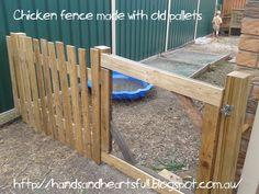 Hands Are Full, Heart Is Full. : Pallet Fence