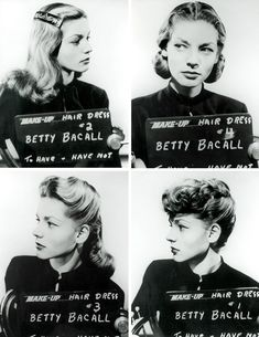 Lauren Bacall before she was famous