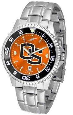 Oregon State Beavers Men's Stainless Steel Dress Watch SunTime. $86.95. Officially Licensed Oregon State Beavers Men's Stainless Steel Dress Watch. Stainless Steel. Men. Links Make Watch Adjustable. AnoChrome Dial Enhances Team Logo And Overall Look