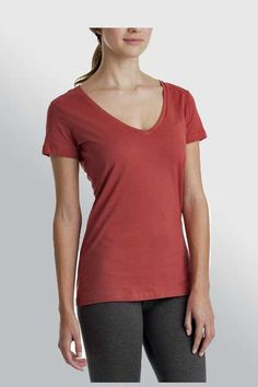 21c28622b27e Organic Cotton Tee - V-neck Clothing Company, Clothing Items, Natural  Clothing,