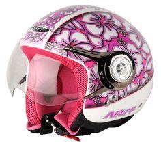 Nitro X549-AV Hawaii Open Face Motorcycle Helmet at Motorcycle MegaStore