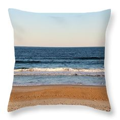 Coast Throw Pillow featuring the photograph Along The Shore 2 by Cynthia Guinn