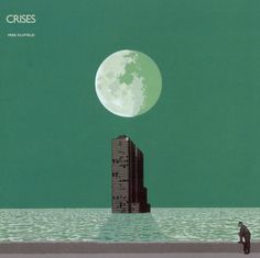 Crises - Mike Oldfield - Design by Terry Ilott