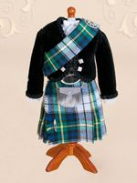 This online shop specialises in miniature Scottish costumes they are beautiful oh and bagpipes