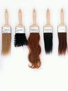 Dearbhaile Heaney - nuancier - cheveux - hair hair art The Real Story Behind Where Your Hair Extensions Come From Hair You Wear, Objets Antiques, Youtube Design, Hair Affair, Thanksgiving Outfit, Salon Design, Design Design, Interior Design, Hair Brush