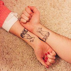 Tatouages Pour, Tatouages Body, Idée Tatouage, Tatouage Couple, Idées De, Idées Tattoo, Vraiment Très, Essayer, Très Cute