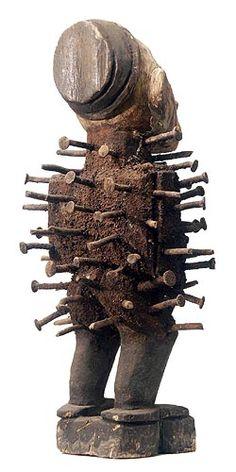 Bakongo Nail Fetishes 60, Congo