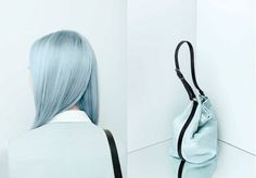 Beautiful pastel colours from OCS Glasshouse Salon. Organic Colour Systems, Karma Chameleon, Pastel Colors, Colours, Hobo Crossbody Bag, Glass House, Modern Classic, Bag Accessories, Hair Color